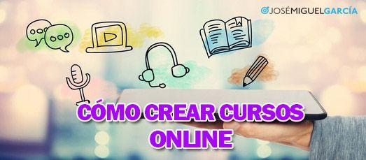Cómo crear cursos online