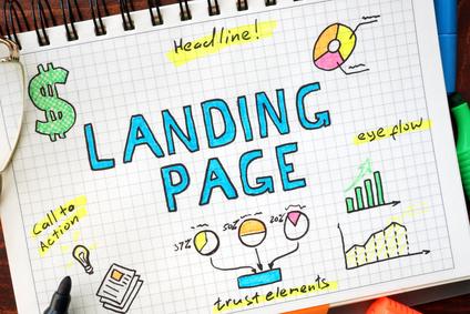 cómo diseñar una landing page en WordPress