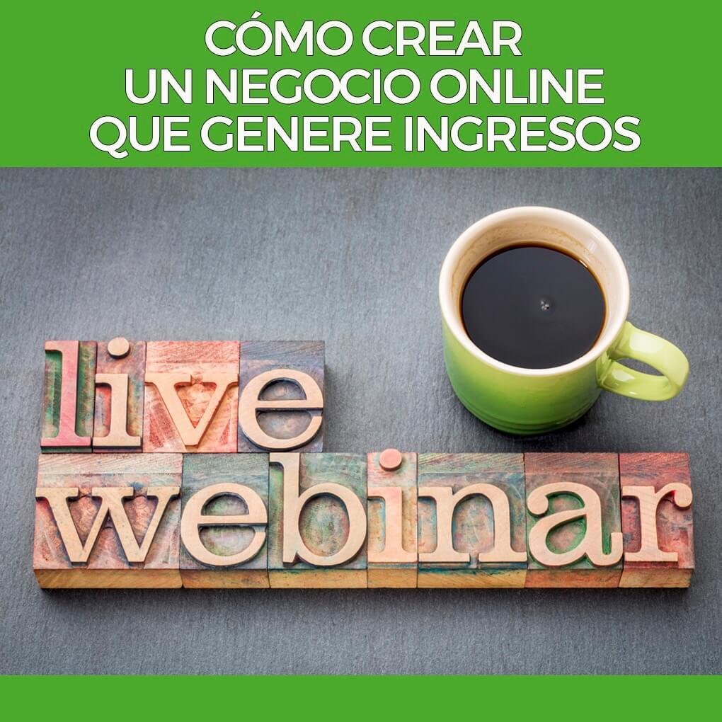 Webinar-Cómo crear un negocio online