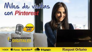 Miles de visitas con Pinterest - Raquel Ortuño