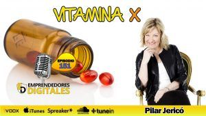 Cómo subir tu nivel de energía - Vitamina X - Pilar Jericó