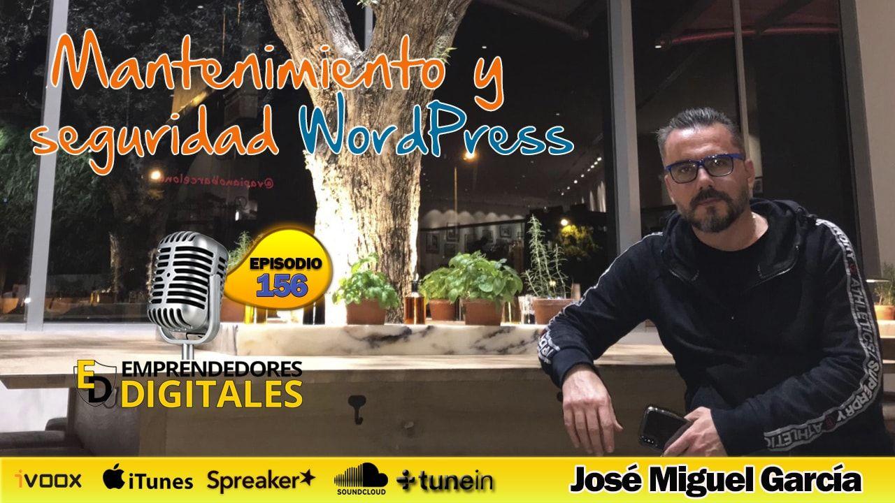 Mantenimiento WordPress - José Miguel García