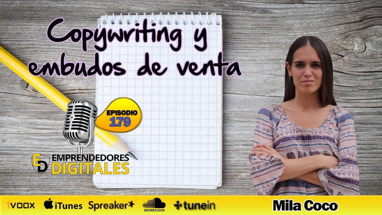 Cómo vender más con embudos de venta y copywriting - Mila Coco | Podcast ep. 179