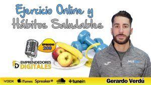Ejercicio Online y Hábitos Saludables