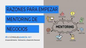 Razones para empezar Mentoring de Negocios